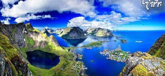 جاذبه های توریستی نروژ