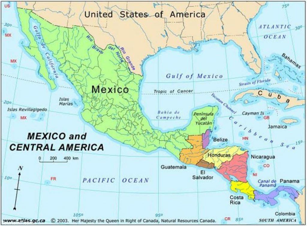 معرفی کشور مکزیک