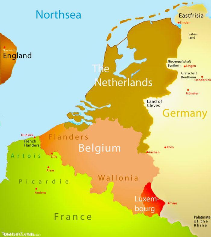 معرفی کشور بلژیک
